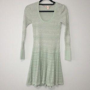 VS Drop Waist Metallic Sweater Dress